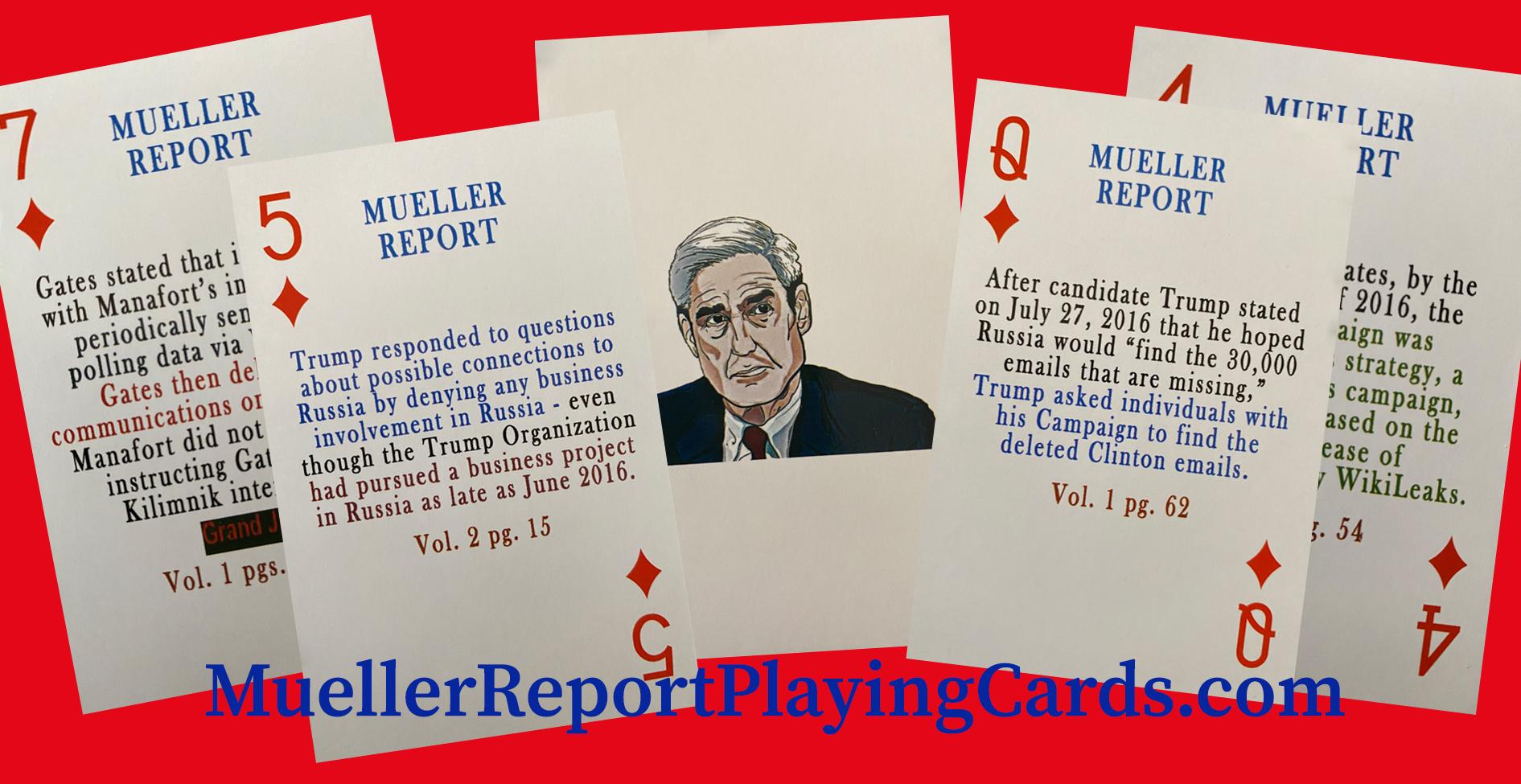 MuellerReportPlayingCards.com