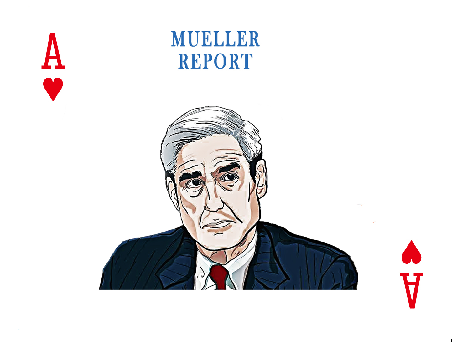 Mueller Report Playing Cards